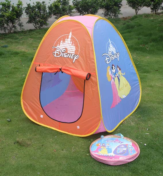 儿童帐篷/儿童汽车帐篷/卡通帐篷 【图案】手工丝网印刷,主题鲜明可爱