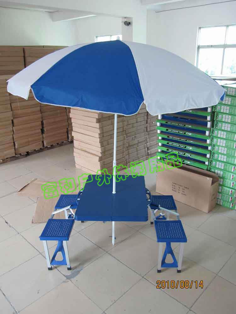 广州ABS塑料桌椅 折叠式工具箱桌子 保险业务促销桌椅
