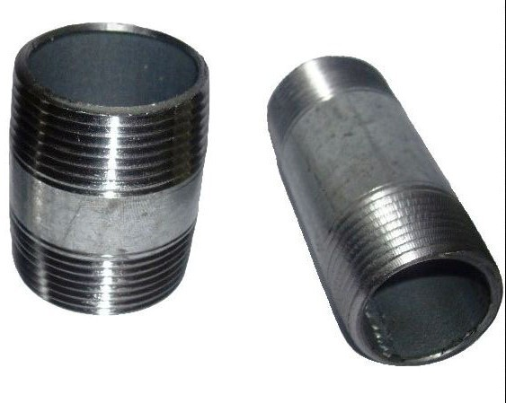 供应美标管外丝,黑品抛丸处理.电镀外丝.