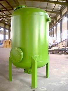 2500*1500碳钢罐体碳钢衬胶罐过滤设备杭州水处理设备碳钢过滤器
