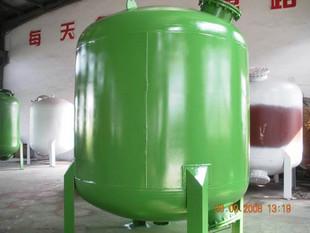 6T/H碳钢石英砂过滤器 碳钢砂滤罐 砂滤器