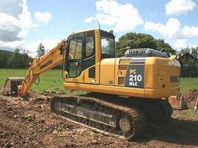 纯进口二手小松挖掘机
