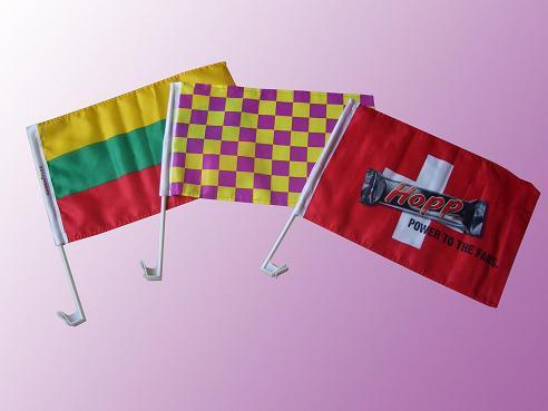 车旗,车窗旗帜,广告旗,国旗