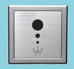 暗藏式大便感应冲水器、蹲厕感应冲便阀、入墙式感应器