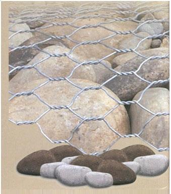 15075866553石笼网护垫8*10 格宾垫80*100勾花石笼网-石笼网厂