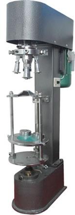 化工瓶锁盖机\金属盖锁盖机机\半自动酒瓶封盖机