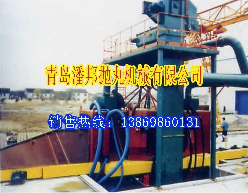 青岛QLY型立式钢板清理抛丸机械