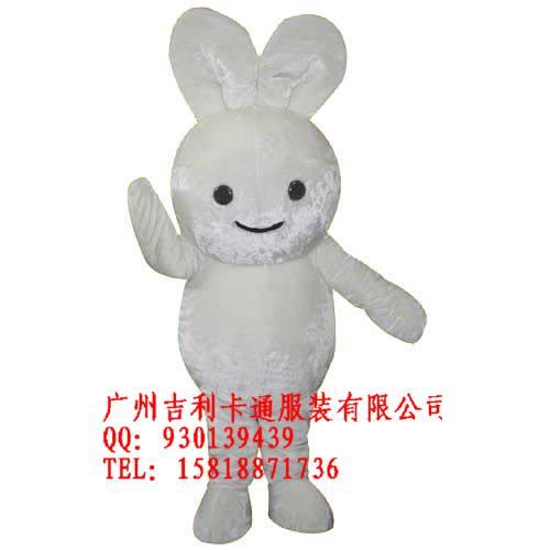 广州吉利卡通服装小白兔