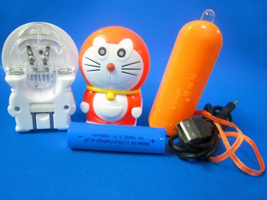 卡通多功能LED礼品手电筒