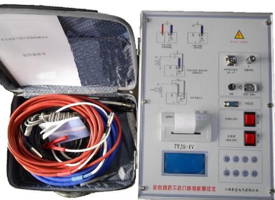 TYJS-IV高精度全自动抗干扰介质损耗测试仪