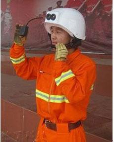 红外热像仪数字化双显图传头盔