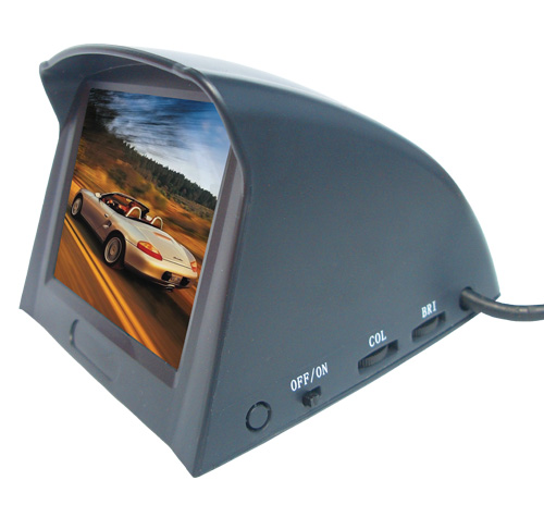 2.5寸模拟屏车载仪表盘倒车液晶显示器