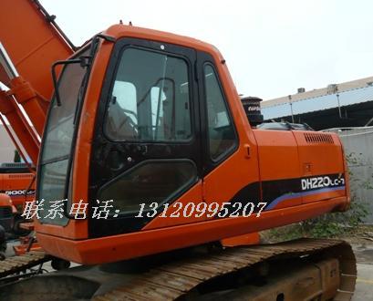 08斗山DH220-7二手挖掘机