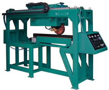 彩钢板生产线龙门式双滚轮缝焊机