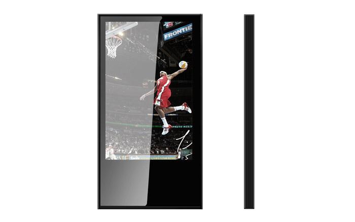 电梯酒店商场22寸框架式广告机