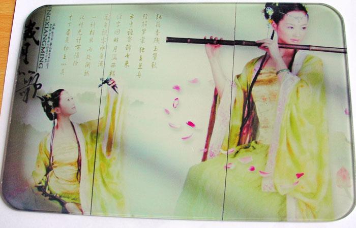 广州诺彩承接玻璃数码印花加工业务