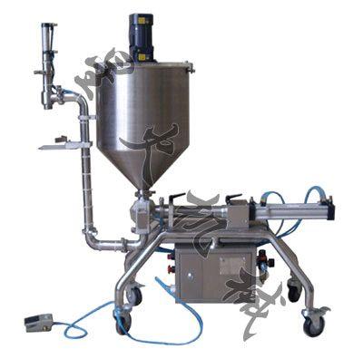 黑龙江派克龙机械 豆瓣酱灌装机 哈尔滨颗粒浆状灌装机