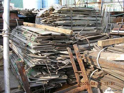 北京天津彩钢房回收 大型钢结构厂房设备回收 金属模板废铁收购