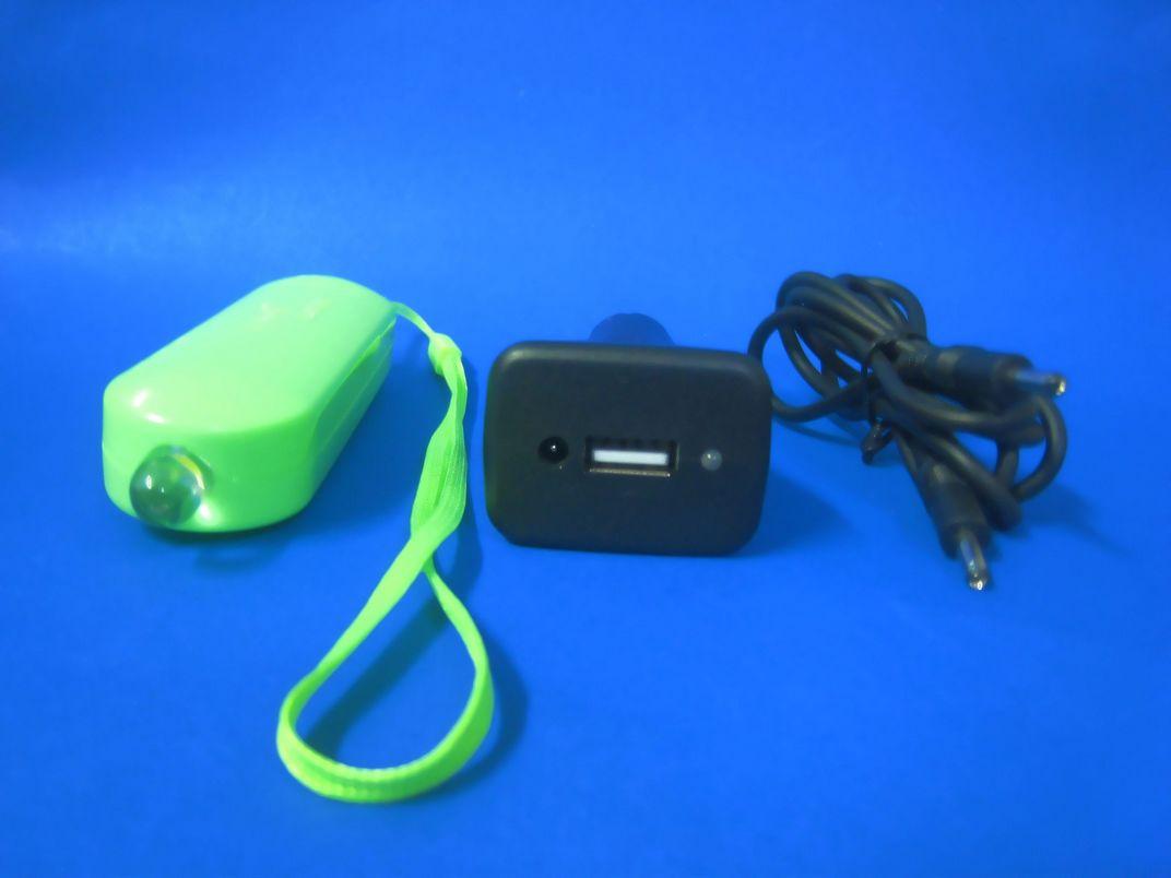 LED车载充电小手电筒