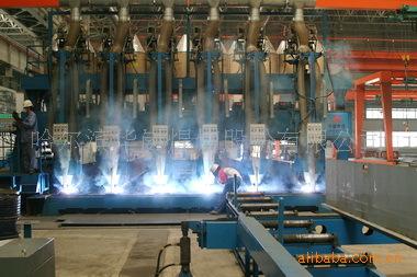厂家直销---多头T型材焊接生产线