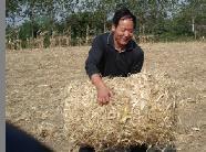 稻草捡拾打捆稻草自拾打捆机,行走式稻草打捆机