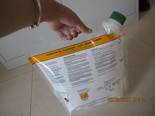 美发用品液体包装袋美发用品自立吸嘴袋