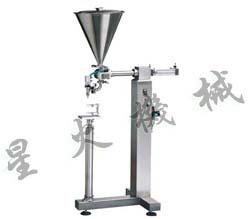 河池立式膏体灌装机/广西膏体灌装机