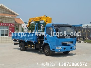 3.2吨东风多利卡随车吊江南东风供应(13872880572)