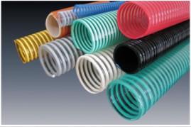供应优质多彩多规格PVC塑筋螺旋增强软管