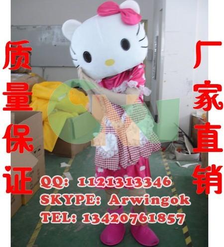 HELLO kitty/影卡通人偶/动漫卡通服装/佛山嘉年华卡通