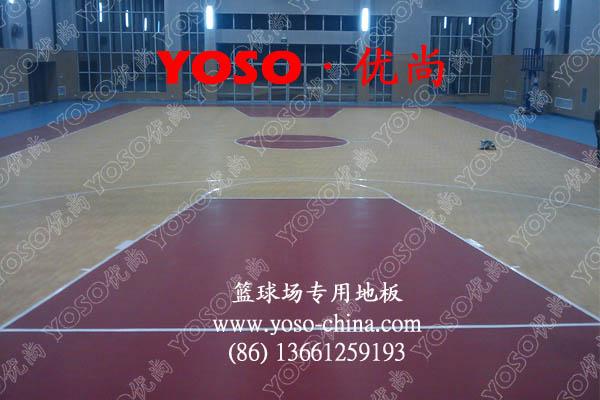 篮球运动地胶  篮球运动地板