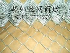 镀锌勾花网 包塑菱形网 浸塑活络网 斜方网生产