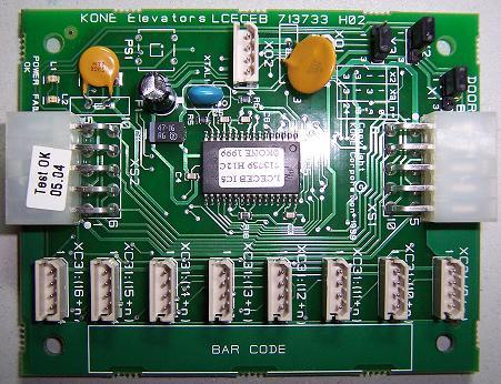 通力电路板