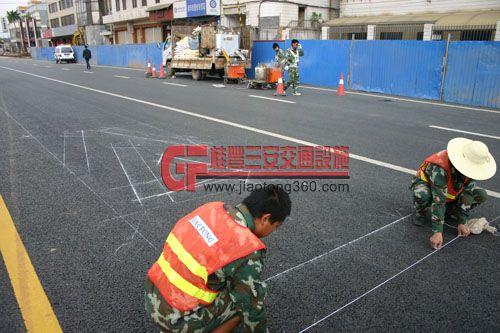 专业划线 公路划线 交通划线 停车场划线 马路划线