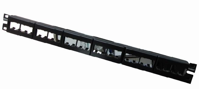 PANDUIT泛达非屏蔽超五类24口配线架