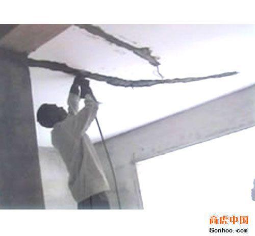 塘厦清溪天面裂缝滴水外墙漏水维修室内装修