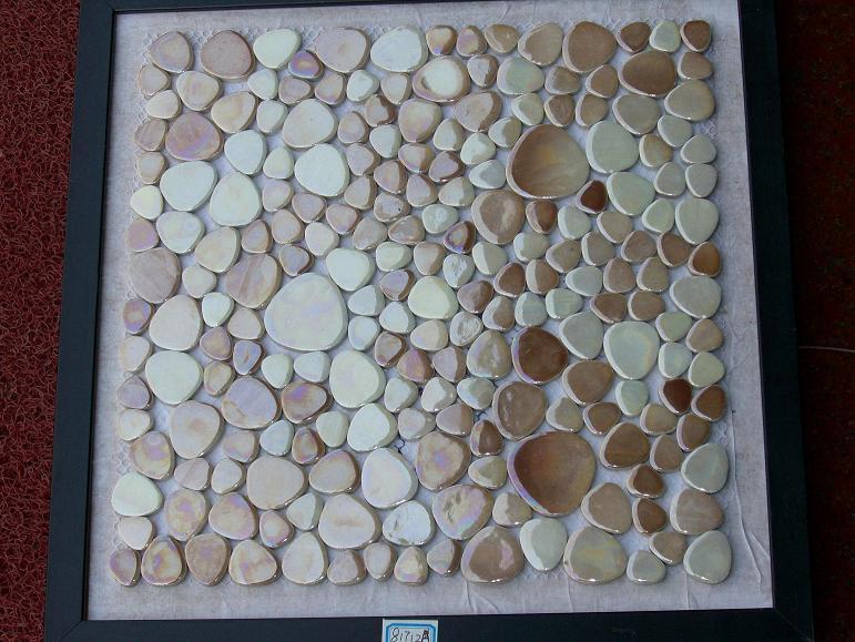 陶瓷鹅卵石闪光釉马赛克
