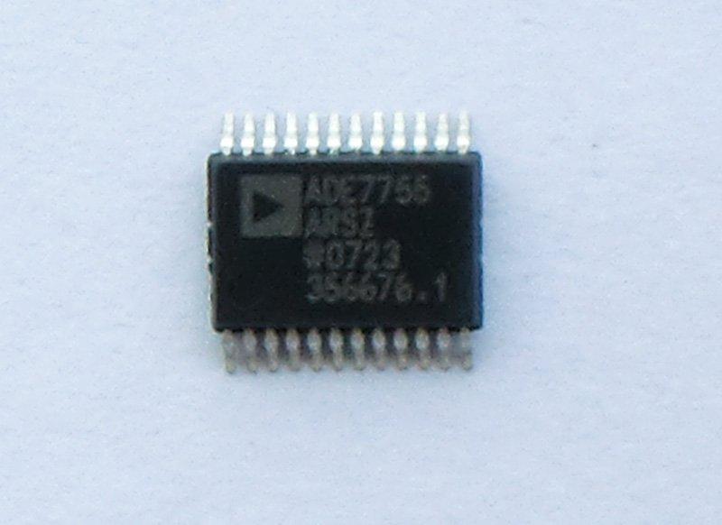 所有其他信号处理(如相乘和滤波)都使用数字电路,这使ade7755在恶劣的