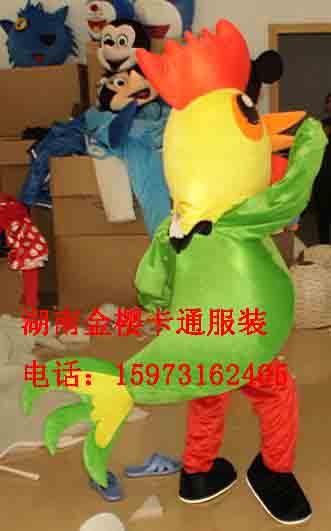 金樱卡通服装人偶小孩鸡