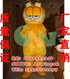 供应加菲猫,卡通服装,人偶服装,舞台表演装