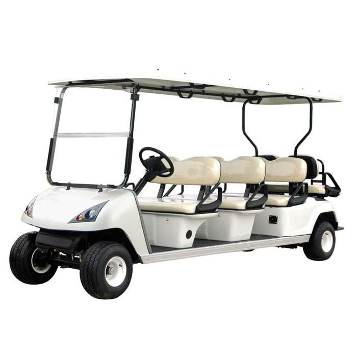 供应6/8座电动高尔夫球车 高尔夫观光车 会所专车