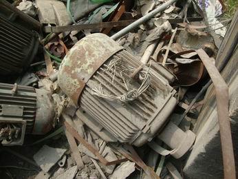 广州回收报废电机马达废料旧金属变压器