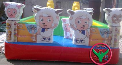 大型气模玩具儿童小型充气城堡 大型充气城堡 充气蹦蹦床 儿童游乐