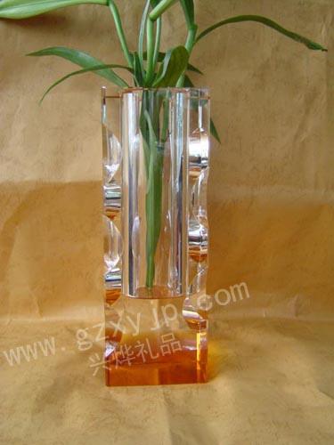 水晶花瓶、上海水晶花瓶礼品、水晶花瓶批发厂家