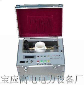 绝缘油介电强度测试仪别称:绝缘油耐压测试仪、试油器、变压器油耐压
