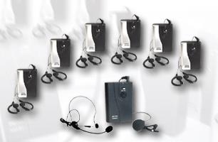 沛旺300型无线导览系统/无线话筒/无线讲解解说导游设备同声传译