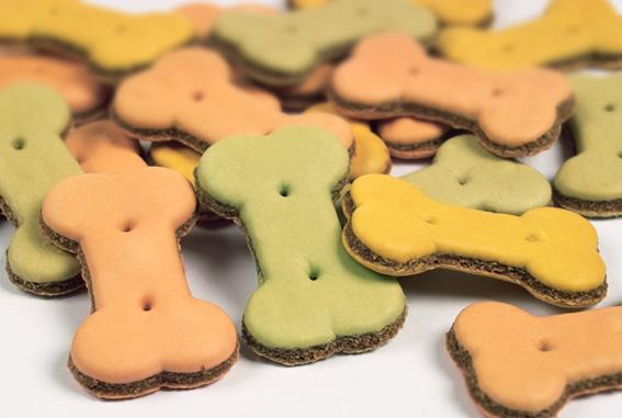 宠物夹心饼干