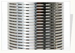 供应水井管,楔形绕丝花管,不易堵塞绕丝滤水管