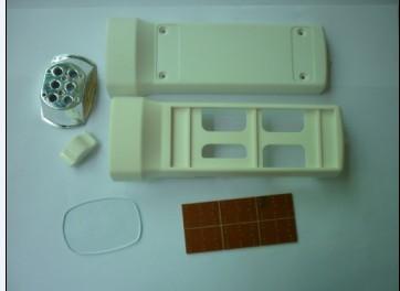 太阳能手电筒组装配件