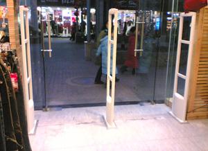 厂家低价批发服装防盗器 服装防盗门超市防盗门 服装防盗扣 开